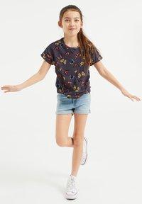 WE Fashion - Print T-shirt - black - 0