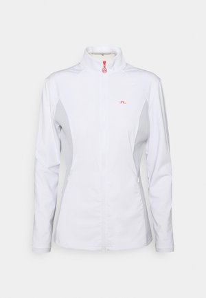 JOY GOLF MID LAYER - Chaqueta de entrenamiento - white