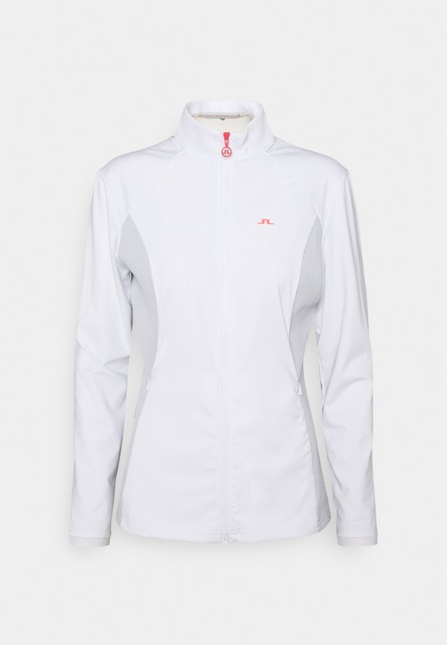JOY GOLF MID LAYER - Kurtka sportowa - white