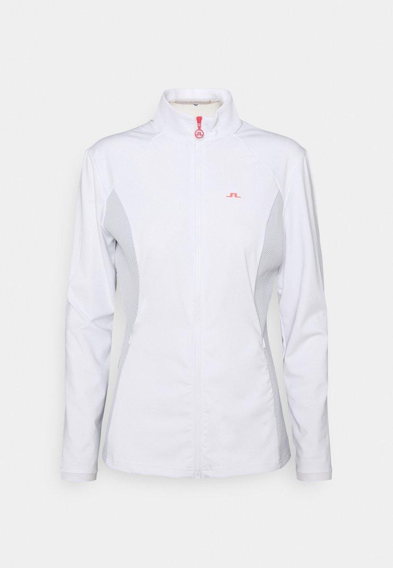 J.LINDEBERG - JOY GOLF MID LAYER - Training jacket - white