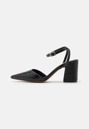 ANKLE STRAP  - Classic heels - black