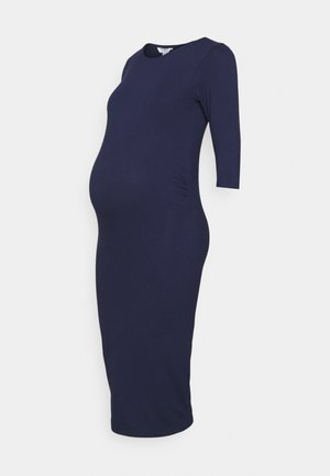 SLEEVE DRESS - Sukienka z dżerseju - navy