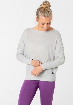 KULA - Long sleeved top - hellgrau