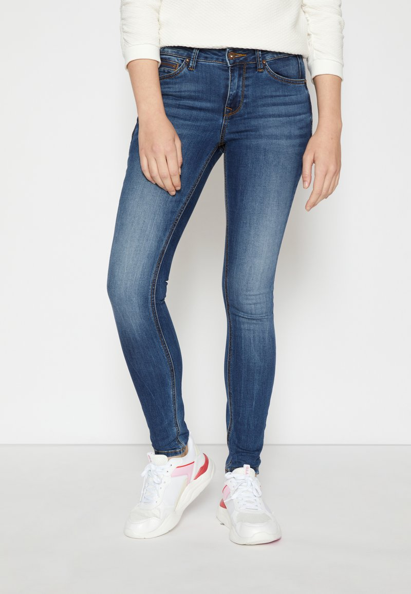 TOM TAILOR DENIM - JONA - Jeans Skinny - clean mid stone blue denim