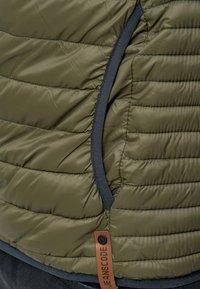 INDICODE JEANS - REGULAR FIT - Light jacket - army - 6