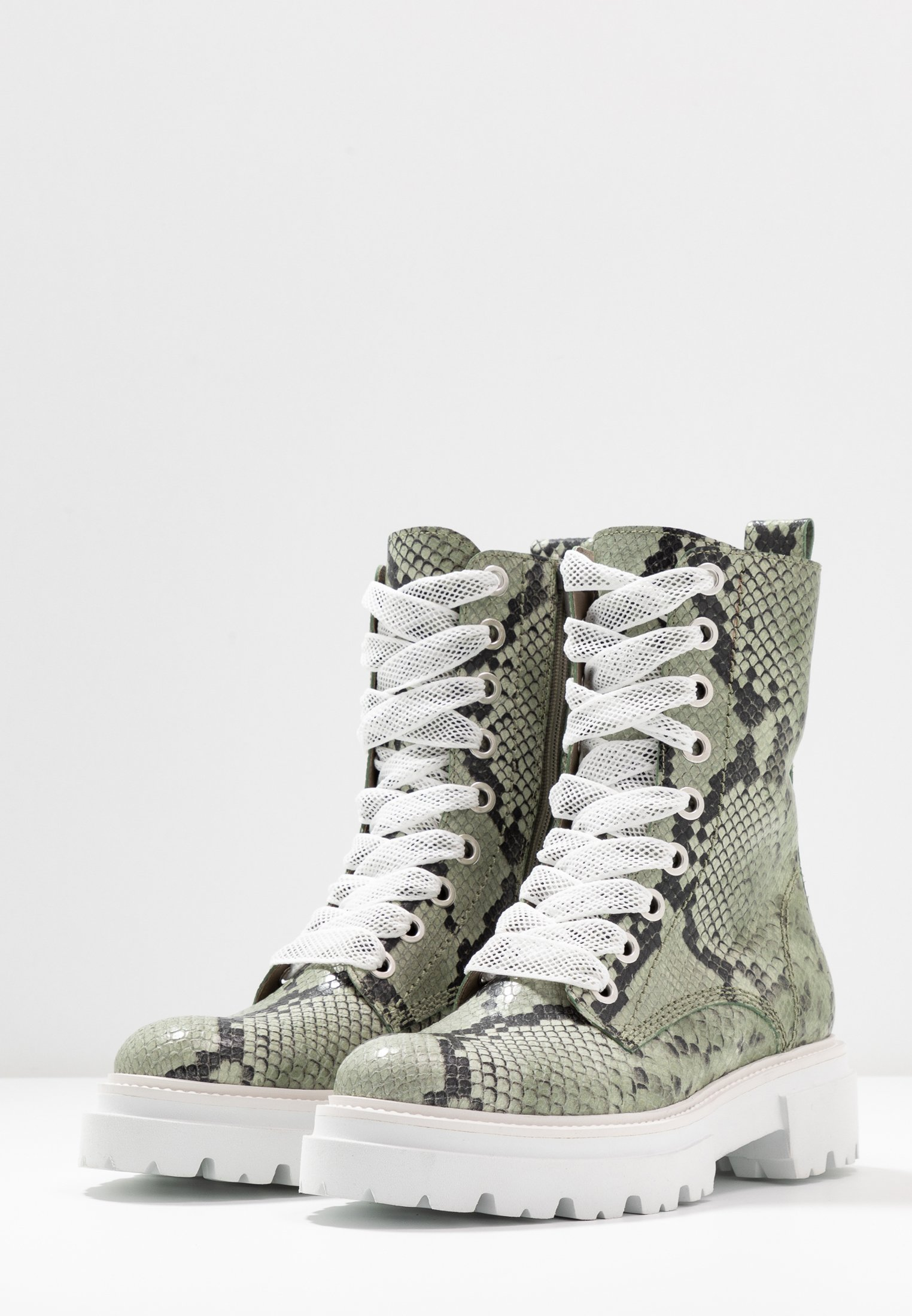 2013 Cheapest Kennel + Schmenger BOBBY - Platform ankle boots - shilf/weiß | women's shoes 2020 JGfMD