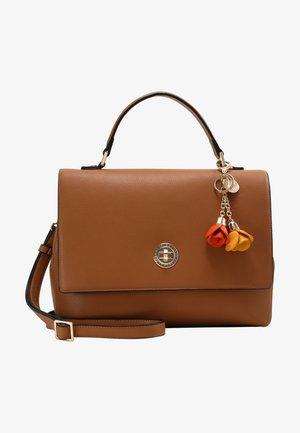 FLORIA - Handbag - cognac