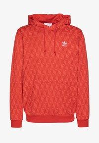 adidas Originals - GRAPHICS GRAPHIC HODDIE SWEAT - Hoodie - red/stiora - 3