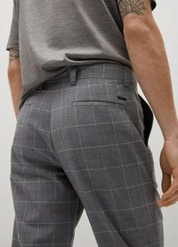 Mango - Chino kalhoty - grau - 4