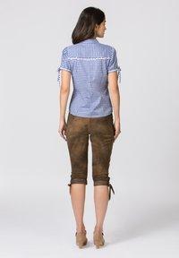 Stockerpoint - FLAVIA - Button-down blouse - blue - 2