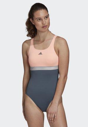 ADIDAS SH3.RO 4HANNA SWIMSUIT - Swimsuit - green