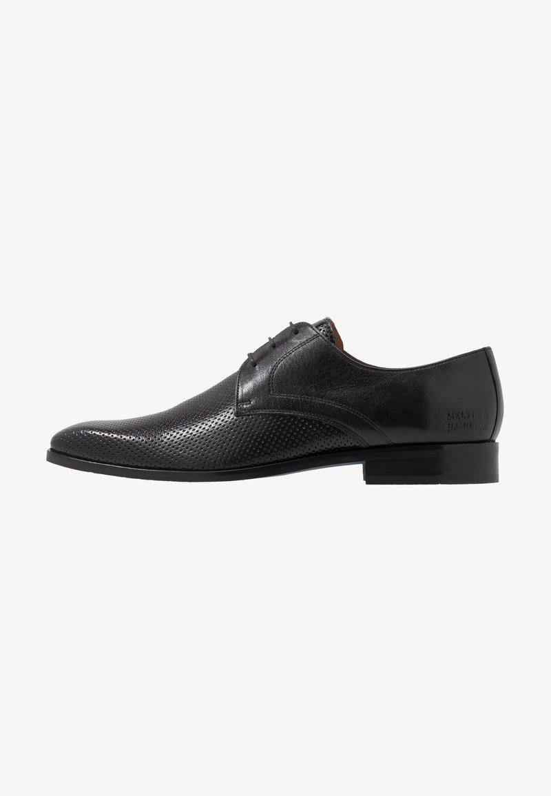Melvin & Hamilton - RICO - Šněrovací boty - black