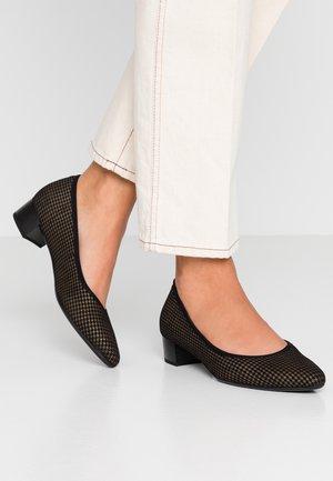 Classic heels - schwarz/bronce