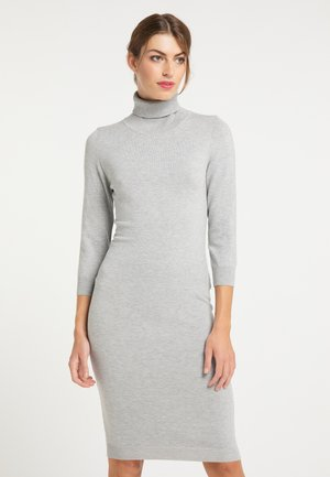 Shift dress - grau melange