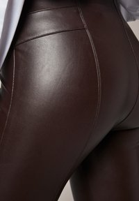comma - Leggings - Trousers - brown - 4