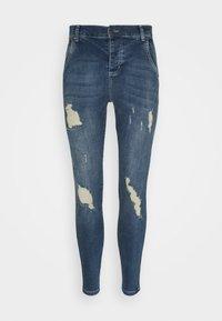 SIKSILK - SIKSILK SKINNY DISTRESSED - Jeans Skinny Fit - blue - 3