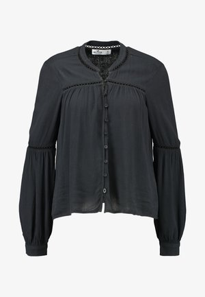 MANDARIN - Blouse - black