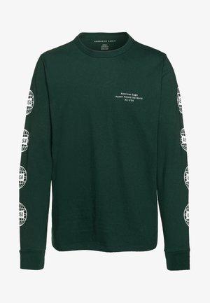 BOUND NECK TEE - T-shirt à manches longues - green