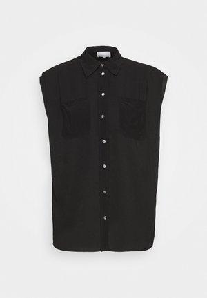 CAP SLEEVE BLOUSE - Camicia - black