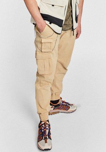 MILTON - Cargo trousers - starfish