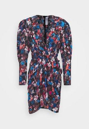 FORRIE DRESS - Korte jurk - black/blue