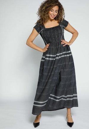POPKEN - Maxi dress - schwarz-weiß