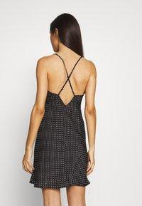 Marks & Spencer London - CHEMISE SPOT CHEMIS - Noční košile - black - 2