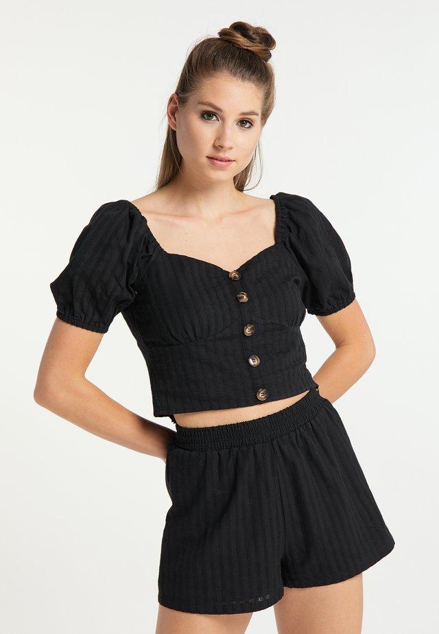 Bluzka - schwarz
