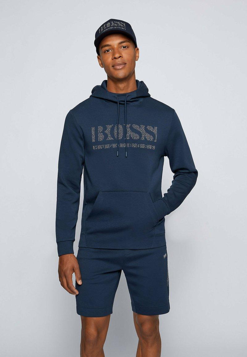 BOSS - SOODY - Sweatshirt - dark blue