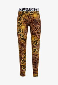 Versace Jeans Couture - Leggings - Trousers - gold - 4