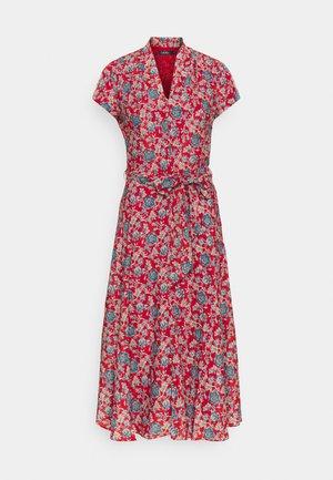 DRESS - Denní šaty - red multi