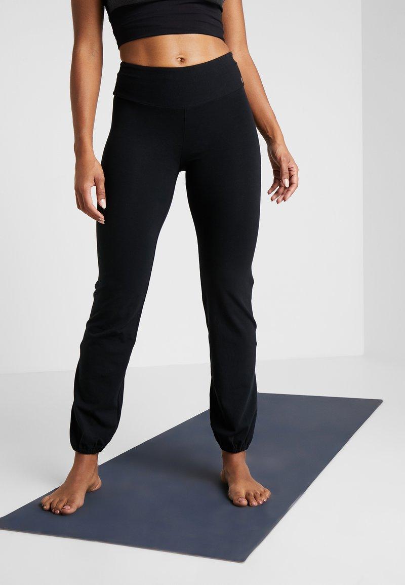 Deha - PANTALONE LUNGO - Træningsbukser - black