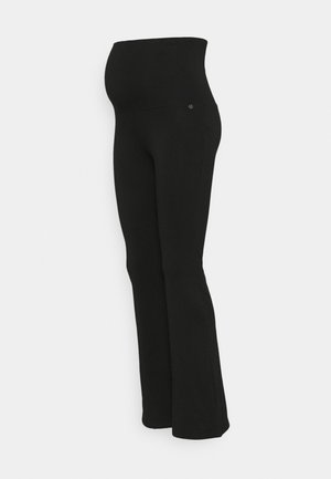 FLARED - Leggings - Trousers - black