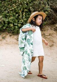 Little Unicorn - Muslin blanket - tropicalleaf - 4