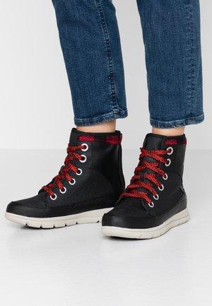 EXPLORER 1964 - Lace-up ankle boots - black