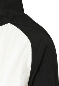 Urban Classics - CRINKLE BATWING  - Training jacket - black/white - 6