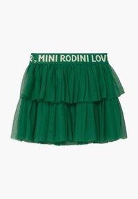 Mini Rodini - A-line skirt - green - 1