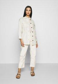 Scotch & Soda - ARMY SHIRT JACKET - Summer jacket - antique white melange - 1