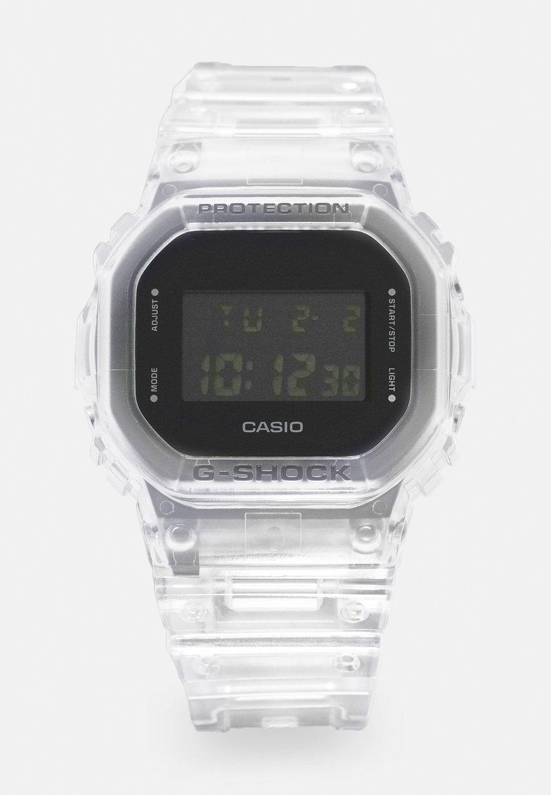 G-SHOCK - DW-5600SKE  - Digitální hodinky - transparent white