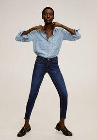 Mango - KIM - Jeans Skinny Fit - donkerblauw - 1