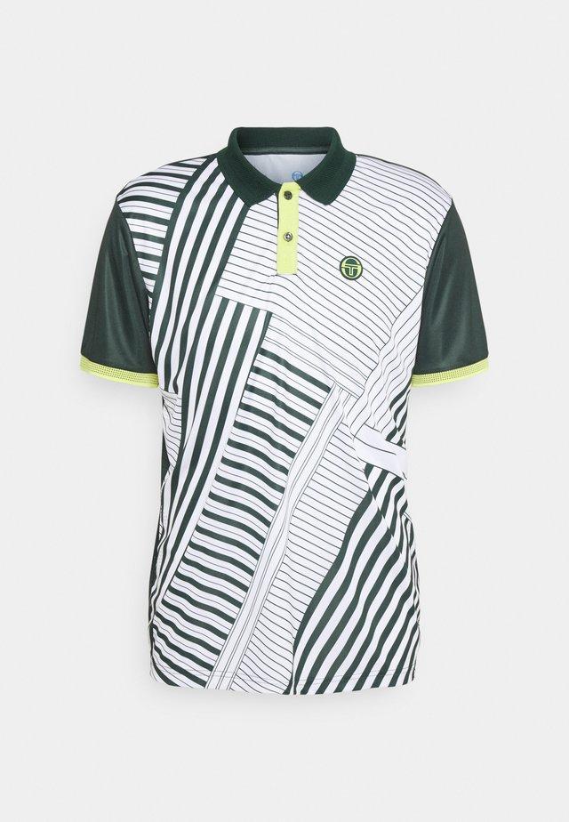 MELBOURNE MAN - T-shirts med print - pine grove/limeade