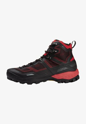 DUCAN HIGH GTX MEN - Hiking shoes - black-dark spicy