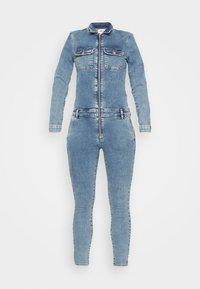 ONLY Petite - ONLINC CALLI  ZIP - Jumpsuit - light blue denim - 4