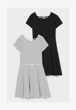 2 PACK - Day dress - white