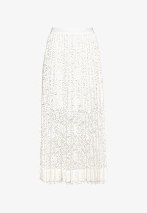 Pleated skirt - offwhite