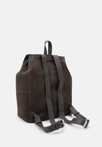 Zign - LEATHER - Rucksack - anthracite - 1