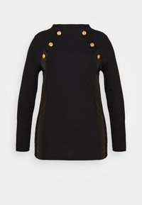 River Island Plus - Long sleeved top - black - 3