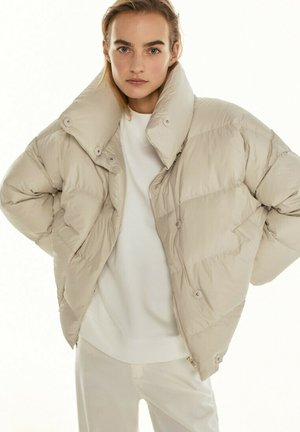 Down jacket - beige