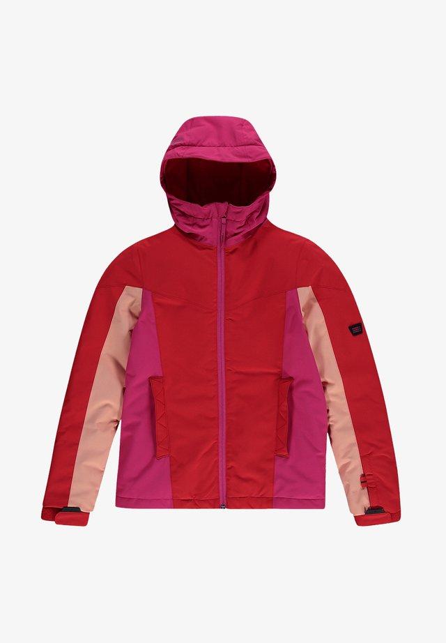 BLAZE JACKET UNISEX - Veste de snowboard - fiery red