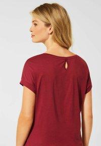 Cecil - MIT ETHNO-PRINT - Print T-shirt - braun - 1